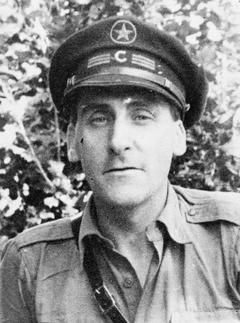 SPANISH CIVIL WAR The Scottish Communist George Aitken, Commissar of the 15th International Brigade.