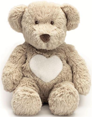 Kjøp Teddykompaniet, Teddy Cream, Bamse, Beige - fra Lekmer.no  Teddy bear with a cream heart