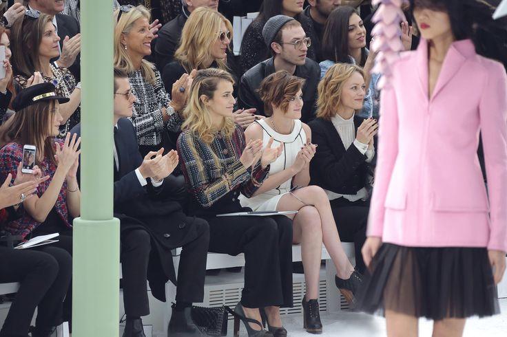 SS 2015 HC - Celebrities pictures by Anne Combaz - Ana Girardot - Gaspard Ulliel - Alice Dellal - Kristen Stewart - Vanessa Paradis