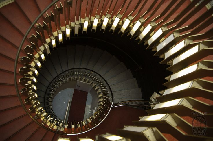 Helical staircase in Berlin