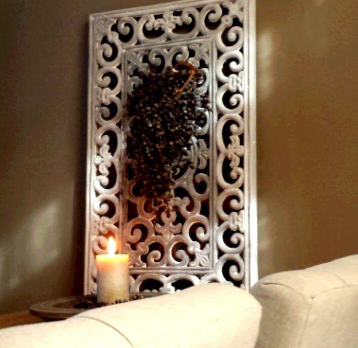 't Hofhuisje : Wandpaneel gemaakt van een deurmat