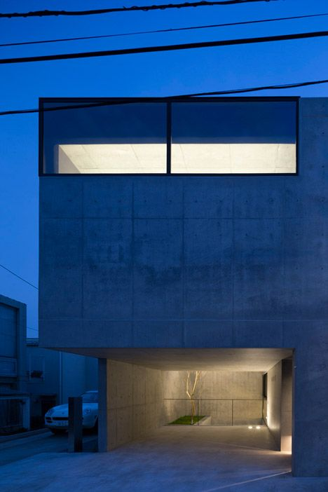 Apollo architects creates spaces for artwork and cars in for Raw space architects