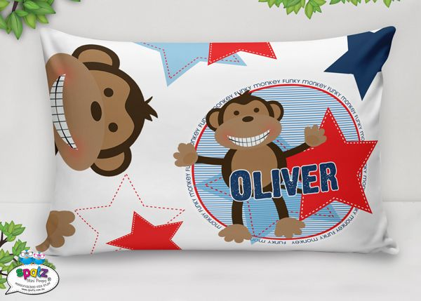 Personalised Kids Pillowcases