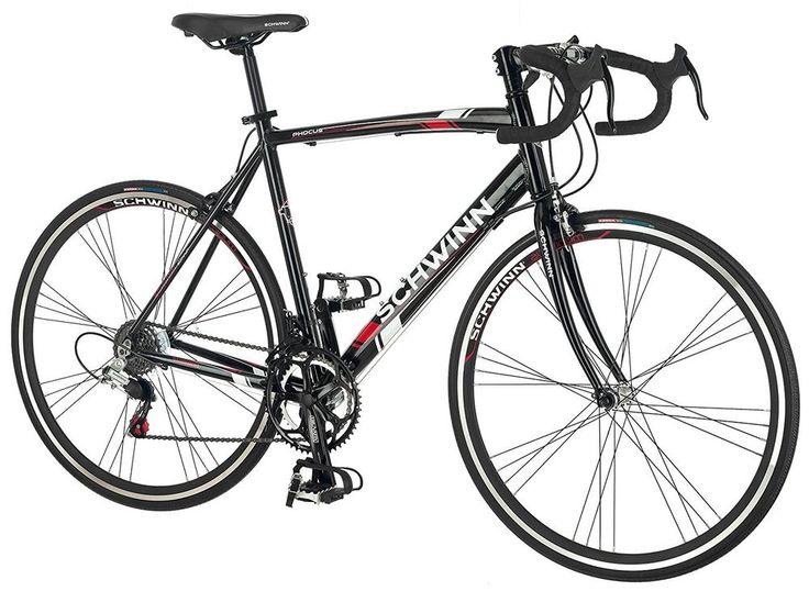 700c Black 1400 Mens Road Bike Outdoor Riding Cycling Sport 24-Speed Lightweight #Schwinn