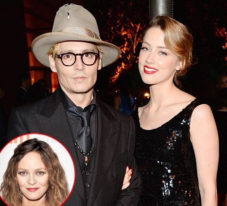 Johnny Depp, Amber Heard Engaged: Why He Never Married Vanessa Paradis - Us Weekly