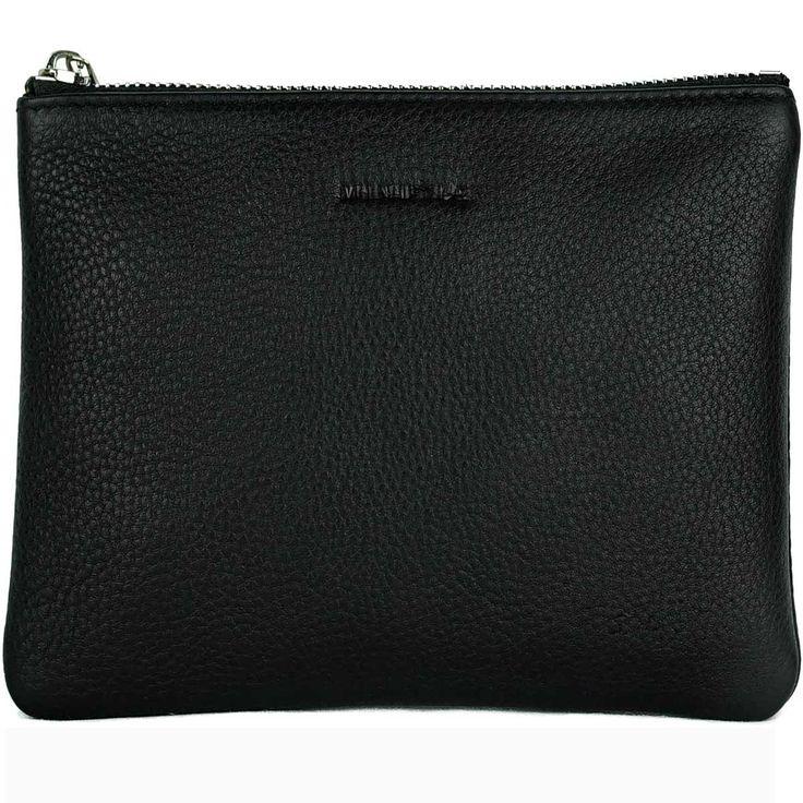 MINUTIAE Medium Pouch - Black Leather – @minutiae_au #minutiae #leather #Australian #luxury