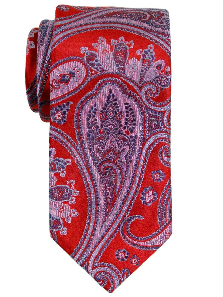 Boy's Tie 23145 Red/Blue from