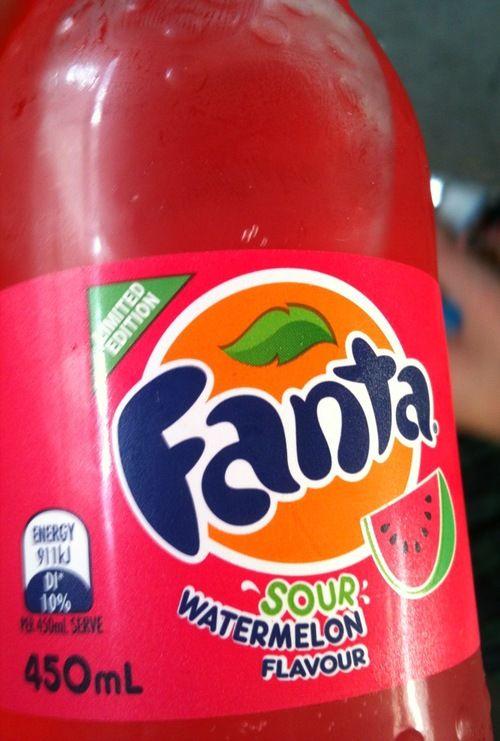 Fanta Sour Watermelon The Eat List Smoothie Drinks