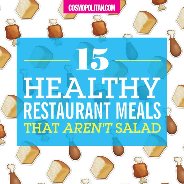 HEALTHY MEALS AT YOUR FAVORITE RESTAURANTS: Luckily, popular chain restaurants — from Burger King and McDonalds to Cracker Barrel and The Cheesecake Factory — all serve perfectly healthy salad-alternatives that are dense in nutrients. So when you want to eat healthy – healthier than a salad — try one of Fear's non-salad recommendations. Here you'll find delicious and filling options at restaurants like Starbucks, Applebees, Panera, Olive Garden, and more! Click through for all the healthy…