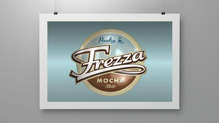 Branding for Frezza Mocha, a ready to drink coffee. (2001)