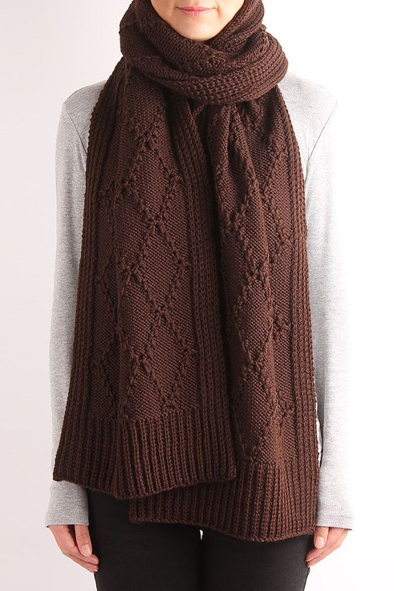 The 25+ best Cable knit scarves ideas on Pinterest | On ...