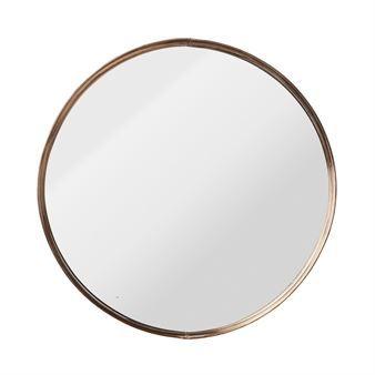 1000 idee n over ronde spiegels op pinterest kleine zaal kleine ingang en ingangs plank - Spiegel kupfer rahmen ...