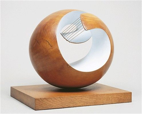 I love the bronzes more but, I just want to stroke it!  Barbara Hepworth  Pelagos, 1946