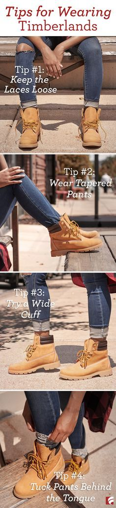 Chances are, you've seen Timberland boots before. They've been around for years but have recently seen a resurgence in popularity. They're not just for working on a construction site or strictly reserved for the coolest hip-hop icons…anyone can wear Timberland boots! It's all in how you style them.