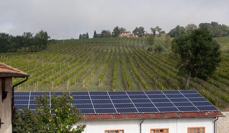 energia pulita in campagna