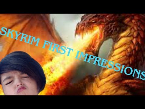 Skyrim | First Impressions (GONE WRONG) (NO DRAGONS SEEN)