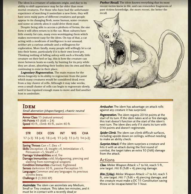 Every DnD homebrew monster I could find in 2019 | Rise of the Rune