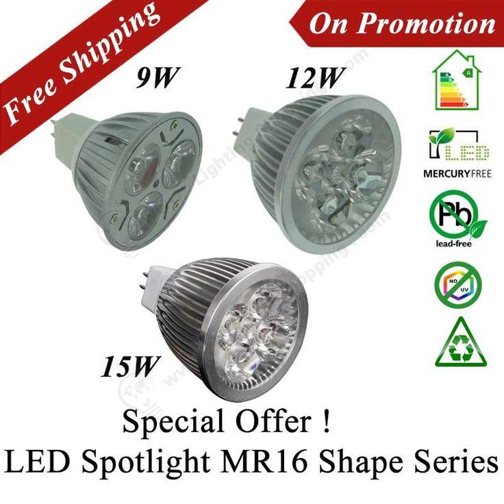 Best Price Led Spotlight, MR16, Low Voltage DC12V, Replaces Traditional Halogen Lamp - See more at: http://www.lightingshopping.com/best-price-led-spotlight-12v-mr16-shape.html