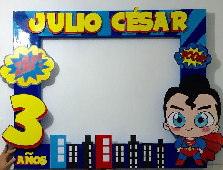 Marco para súper Julio Cesar