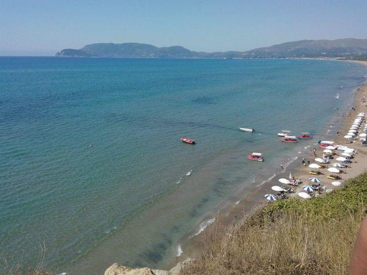 Παραλία Καλαμακίου (Kalamaki Beach) în Λαγανάς, Ζάκυνθος