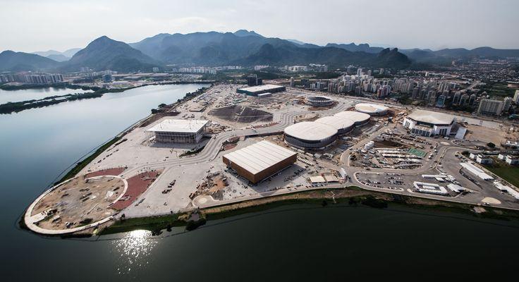 Rio 2016: Parque Olímpico da Barra ultrapassa 90% de execução #globoesporte
