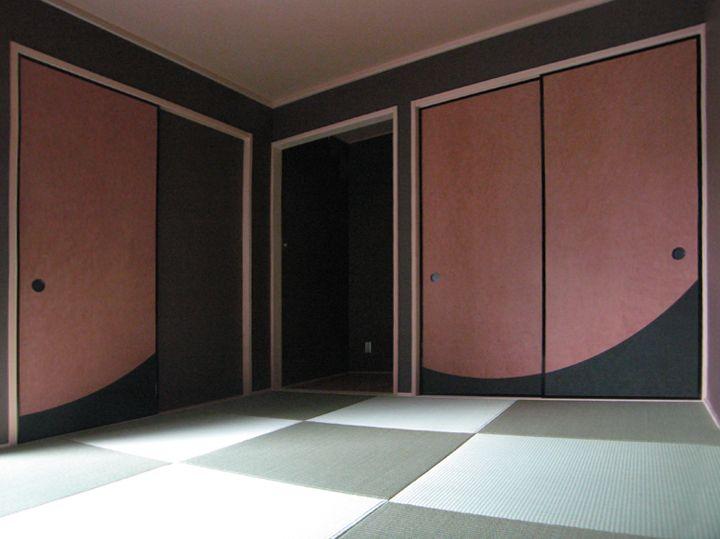 おしゃれな襖 ふすま ふすまの張替え 新調 大阪 紙戸屋 中野