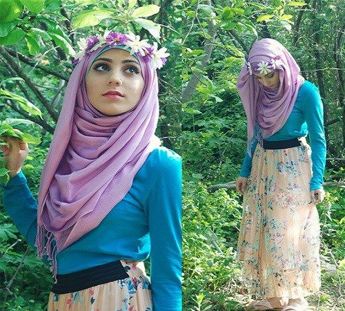 Percantik Jilbabmu dengan Flower Crown atau Mahkota Bunga   Zona Kreatif