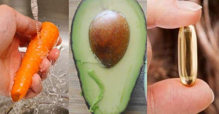 1 Καρότο, 1 Αβοκάντο & 1 Κάψουλα Βιταμίνης Ε Αποτελούν Τον Μαγικό Συνδυασμό! - Δείτε Γιατί  True Life