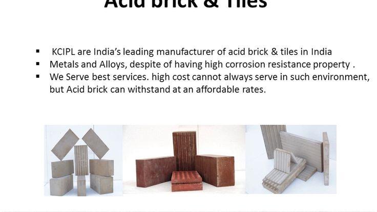 Acid Resistant Tiles & Brick Acid