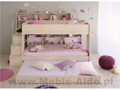 Łóżko dziecięce Bibop 2326LISU-TILI - 3 osoby