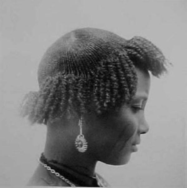 Cropped crown w/ long, textured sides and front can be uniquely beautiful.