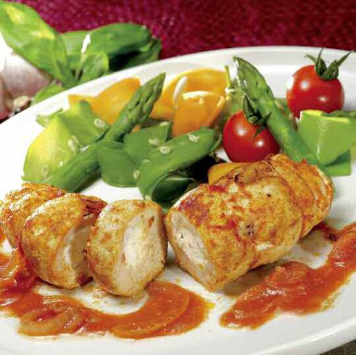 Tefal Actifry: Chicken stuffed with cheese and paprika
