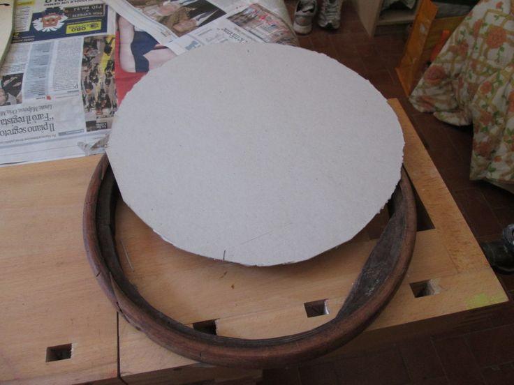 sedia thonet di fine 800: dima costruzione sedile