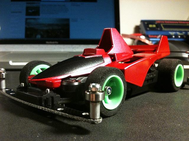 Custom mini 4wd shell by Jack Tay, via Flickr
