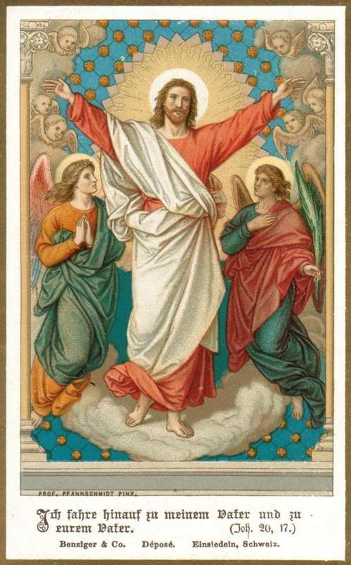 """Christ's Ascension -- """"I ascend unto my Father, and your Father."""""""