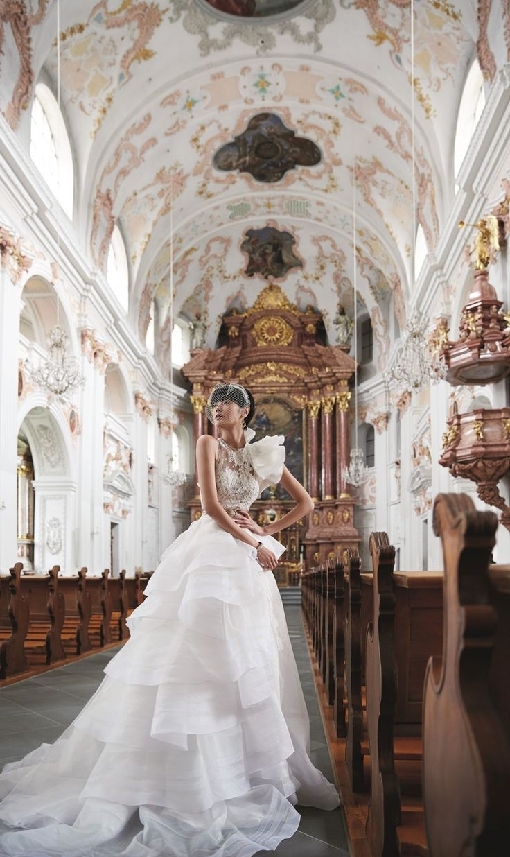 Gorgeous bridal shoot idea | Inspiring post by Bridestory.com, everyone should read about Model-actress Sheila Sim does her first bridal shoot in Lucerne, Switzerland on http://www.bridestory.com.sg/blog/model-actress-sheila-sim-does-her-first-bridal-shoot-in-lucerne-switzerland