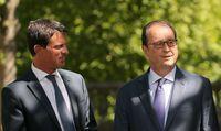 Sondage: nette hausse de popularité pour Hollande et Valls
