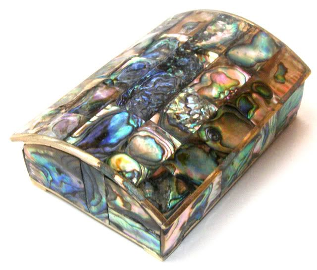 Details About Ornate Antique Trinket Jewelry Casket Box