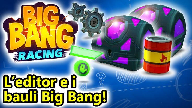 Big Bang Racing - Editor di livelli e bauli Big Bang! Eccoci su Bing Bang Racing per Android! In questo nuovo episodio apriremo ben 2 bauli Bing Bang dove troveremo tantissime carte epiche e rare, e vedremo come utilizzare l'editor di livelli per fare i #bigbangracing #android #corse #online