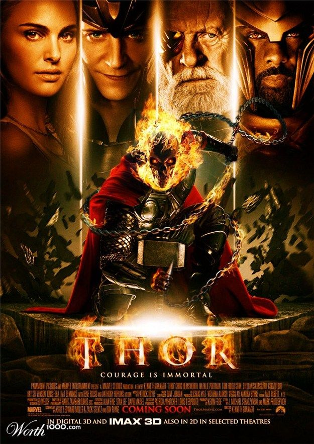 Thor + Ghost Rider THIS IS FRIKKING AMAZING | Comics/TV