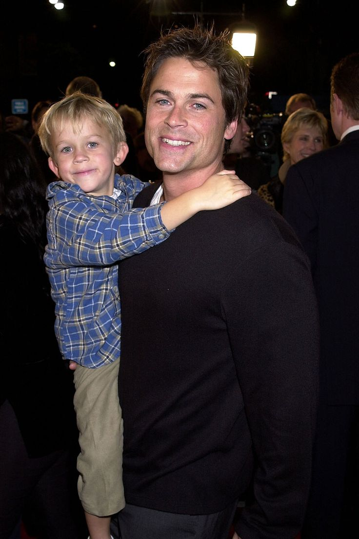 Rob Lowe ~ The 42 Hunkiest Celebrity Dads of All Time - ELLE.com
