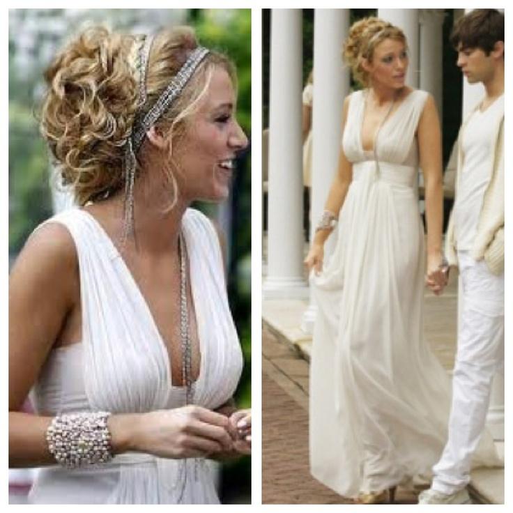 Blake lively wedding dress wedding pinterest her for Made of honor wedding dress