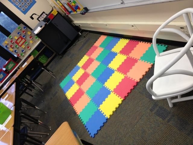 Here in the Waiting Place: My LEGO classroom!