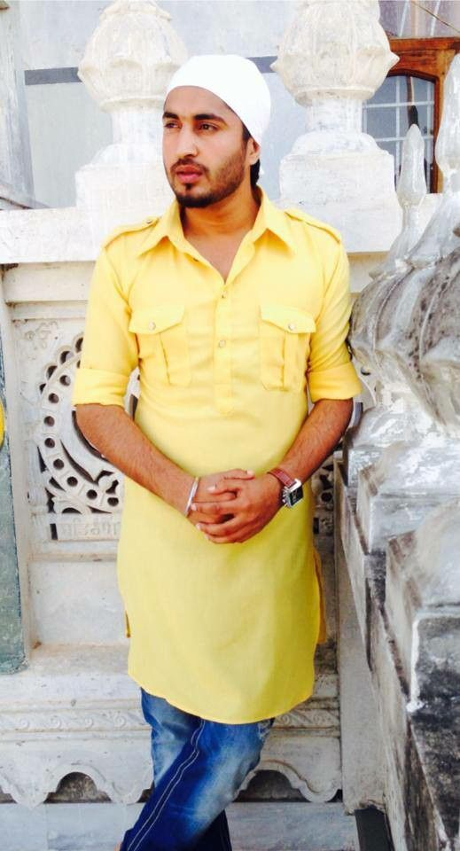Yellow kurta jG
