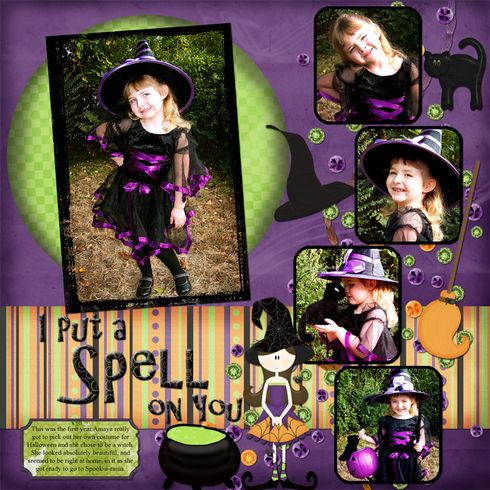 I Put a Spell on You, layout by dshepard