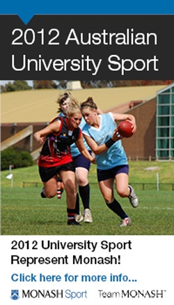 Monash loves Sport! Let's play!