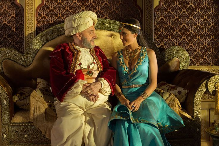 Les nouvelles aventures d'Aladin - La princesse Shallia Sofia and Le sultan