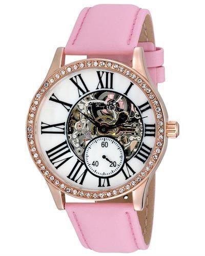 Bidz.com Listing #240395727 : AUGUST STEINER Automatic Watch With Crystals