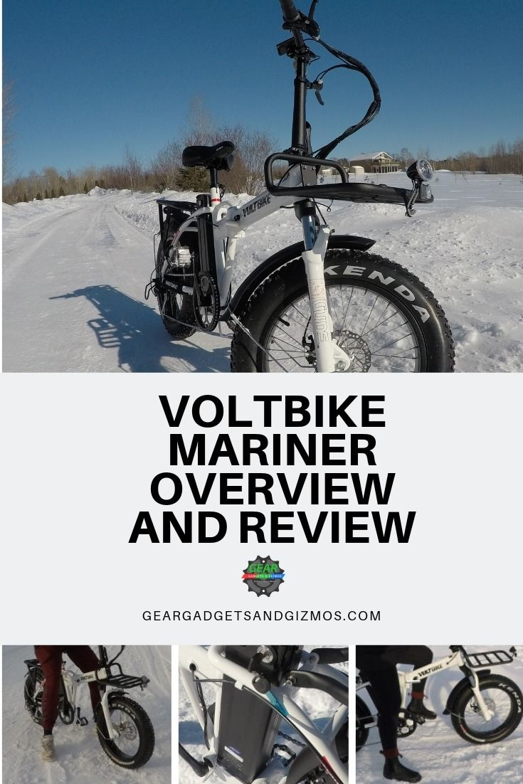 Voltbike Mariner Overview And Review Folding Electric Bike