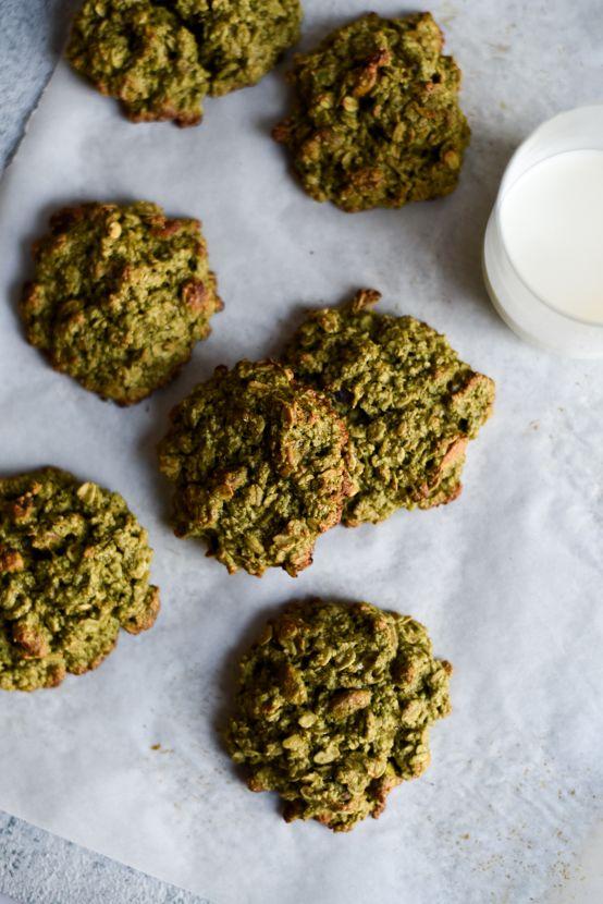 Matcha-Oatmeal Breakfast Cookies (Vegan + Gluten-Free)   The New Baguette